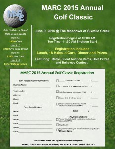 2015 MARC Golf Classic @ The Meadows of Sixmile Creek | Waunakee | Wisconsin | United States